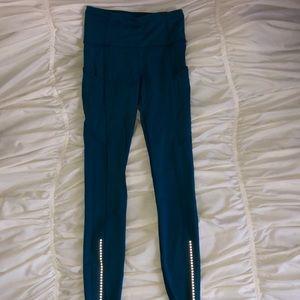 Blue lulu lemon leggings